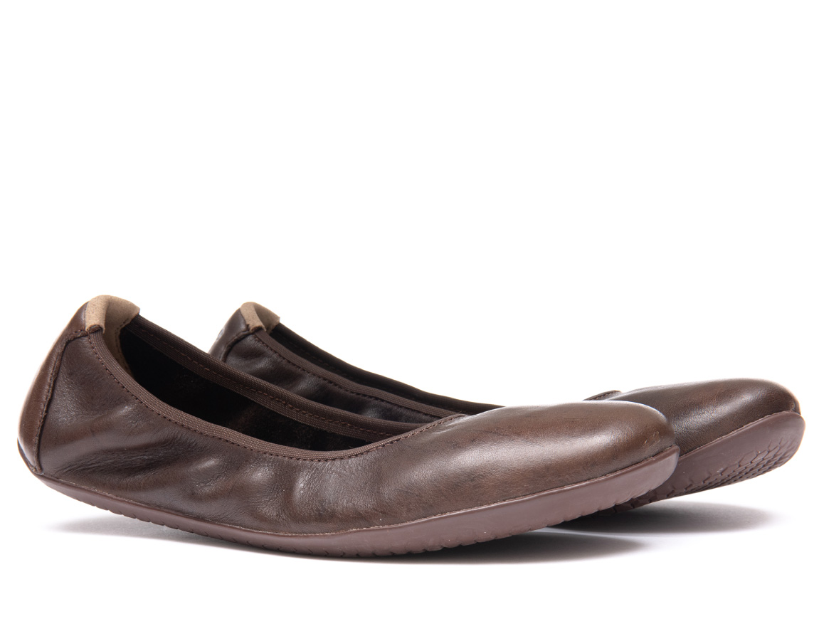 Vivobarefoot JING JING 2 L Leather Brown ()