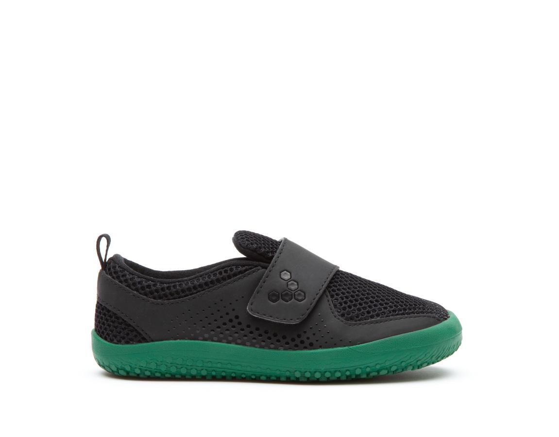 Vivobarefoot PRIMUS KIDS K Black/Green