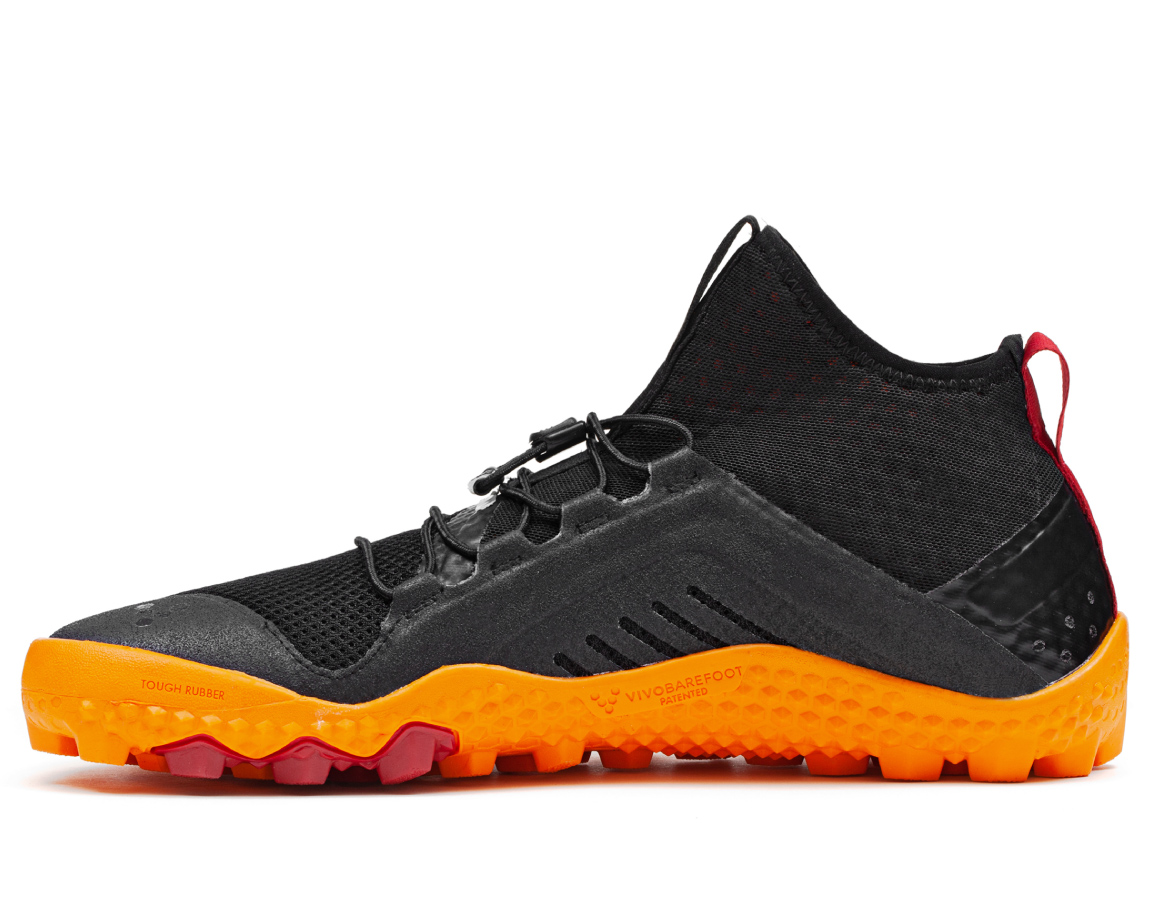 Vivobarefoot PRIMUS SWIMRUN HI SG M Mesh Black/Orange ()