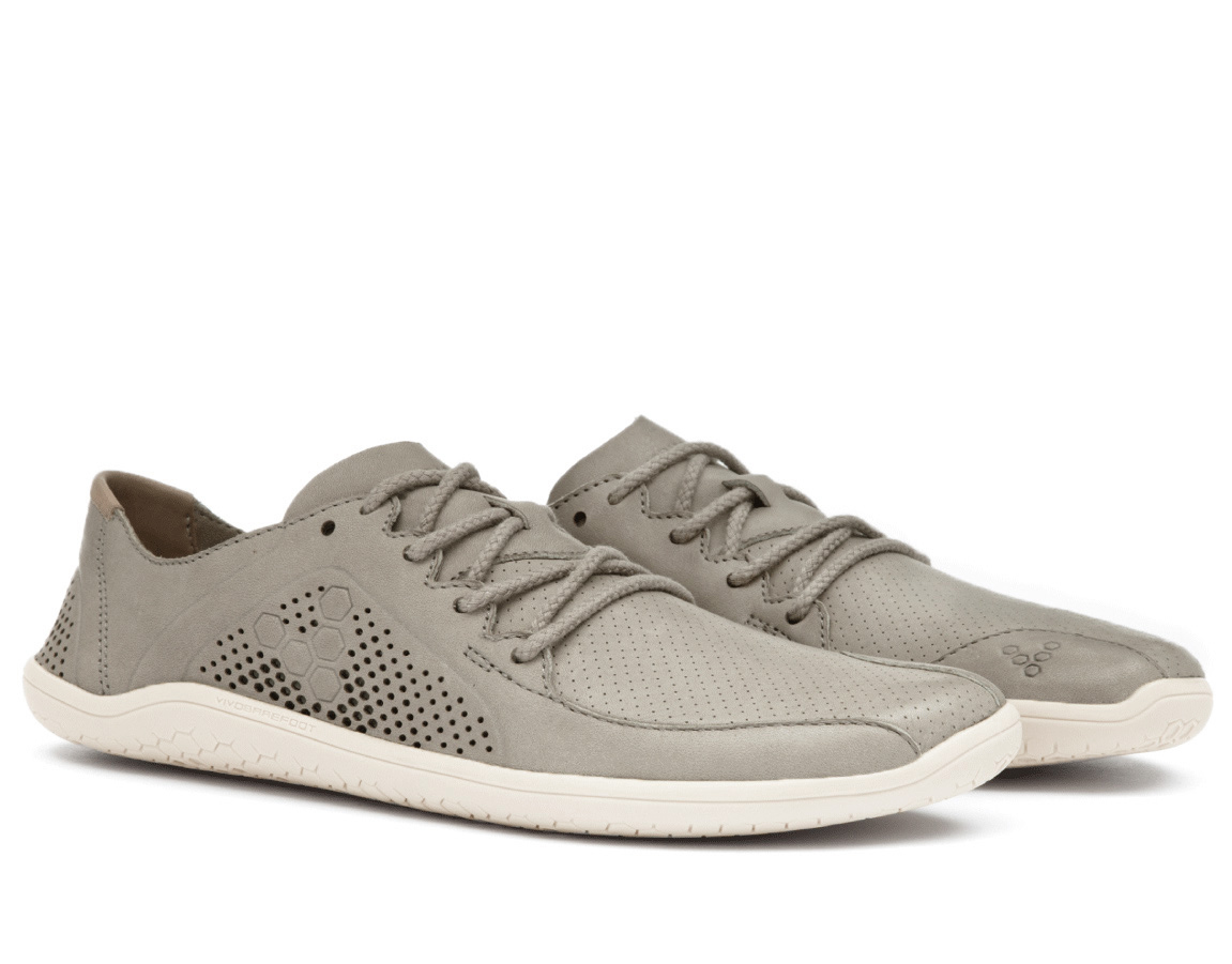Vivobarefoot PRIMUS LUX M Leather Light Grey ()
