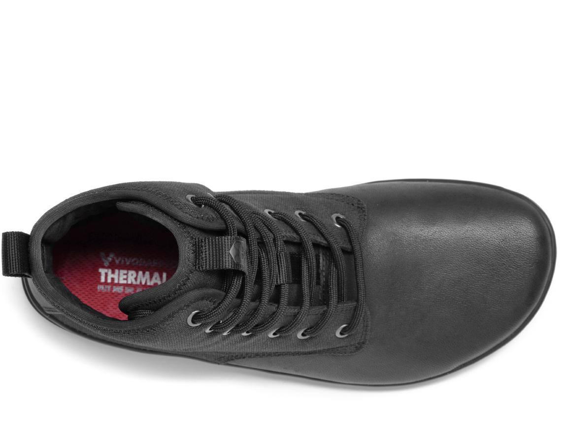 Vivobarefoot SCOTT 2.0 M Leather Black ()