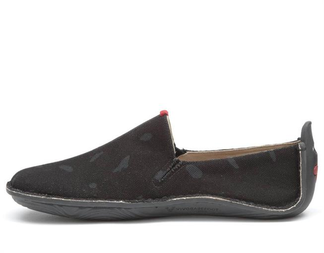 Vivobarefoot ABABA L Canvas Swipe Black ()