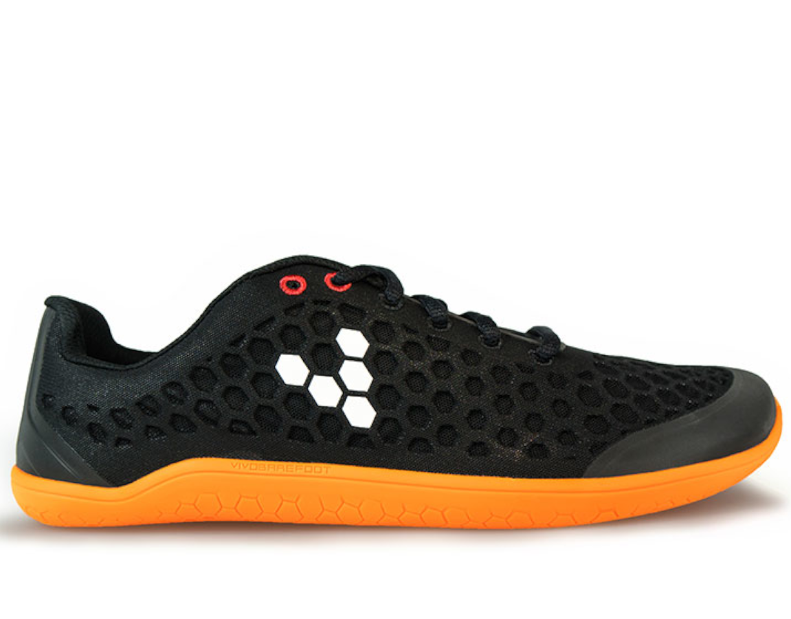 Vivobarefoot STEALTH 2 Ötillö L BR Black/Orange ()