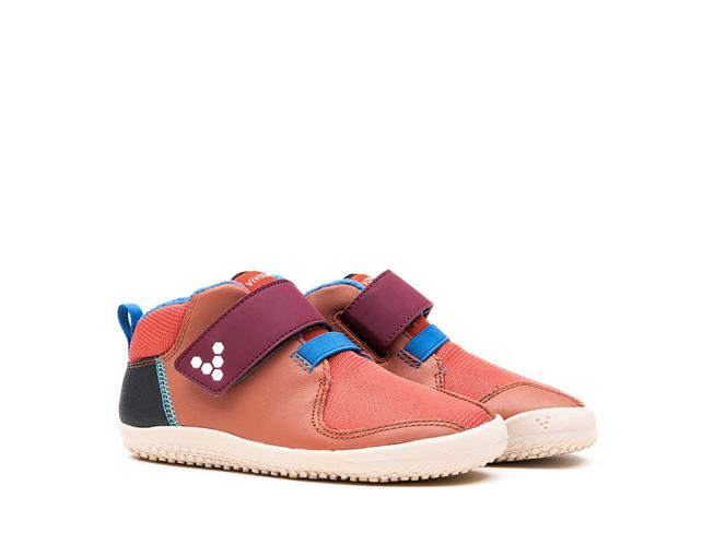 Vivobarefoot PRIMUS BOOTIE K Leather Terracotta ()