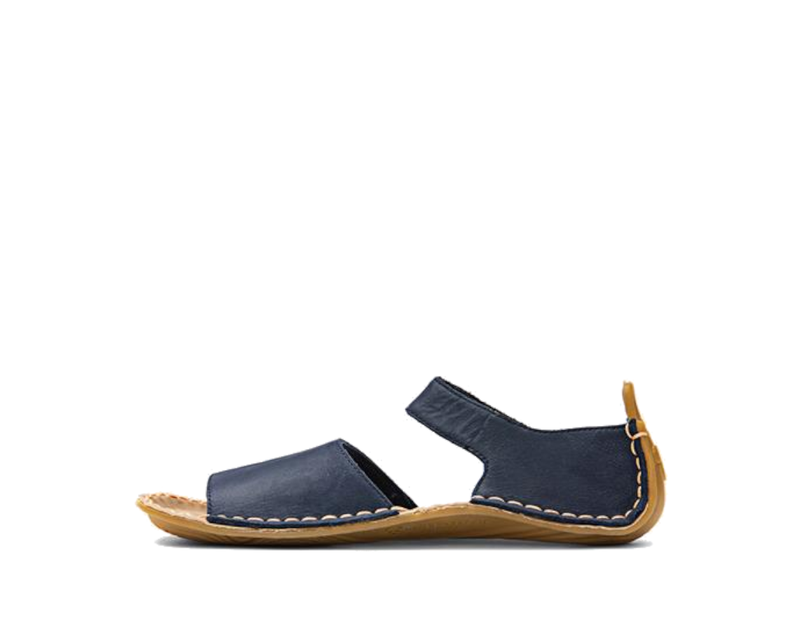 VIVOBAREFOOT ABABA K Sandal Leather Navy ()
