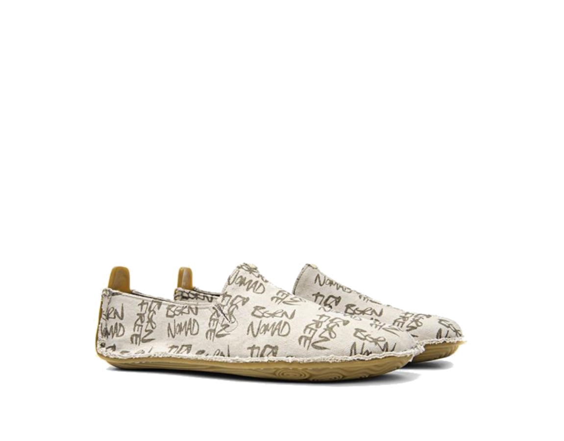 Vivobarefoot ABABA K Cream Born Free Canvas ()
