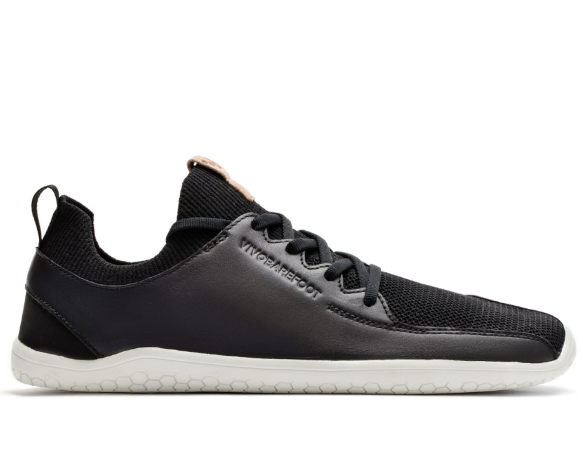 Vivobarefoot PRIMUS KNIT M Black Leather ()
