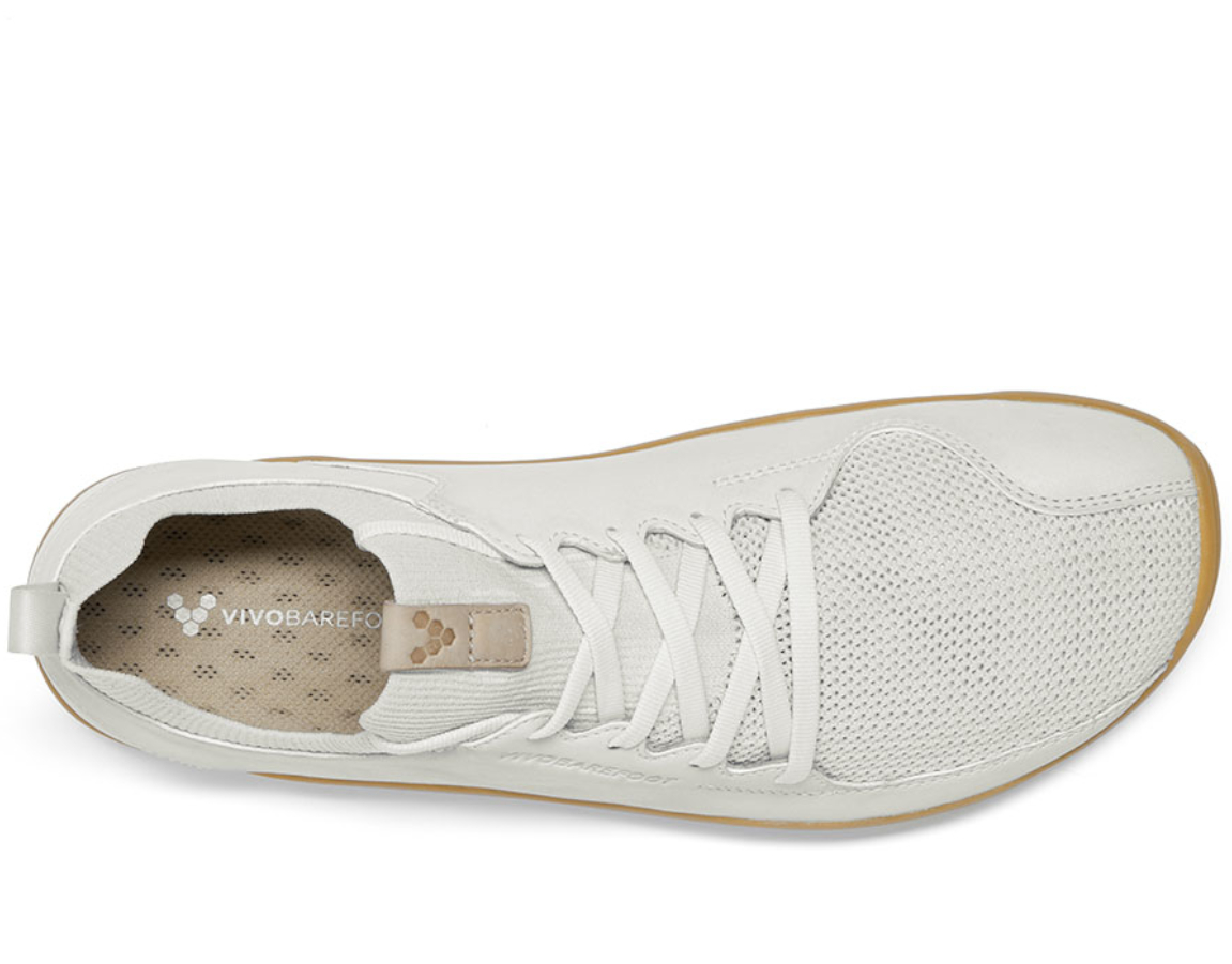 Vivobarefoot PRIMUS KNIT M Vap Grey Leather ()
