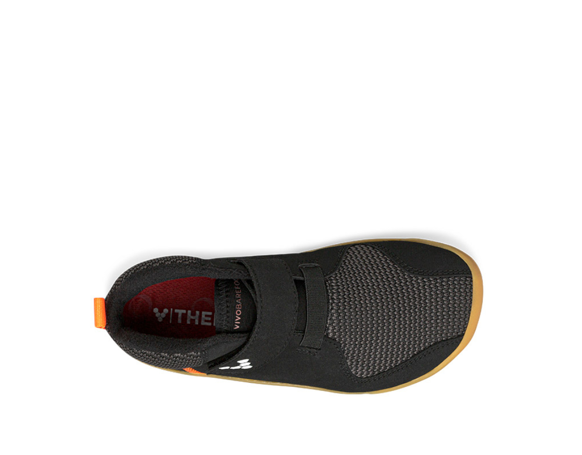 Vivobarefoot PRIMUS BOOTIE K BLACK ()