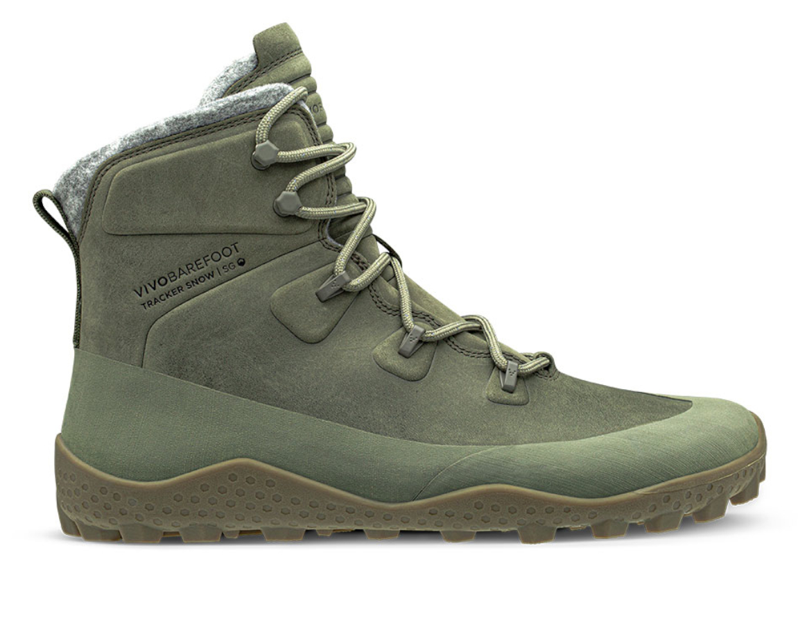 Vivobarefoot  TRACKER SNOW SG M DUSTY OLIVE GREEN ()