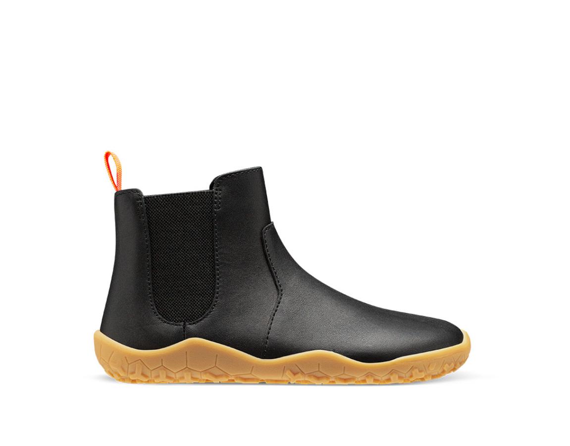 Vivobarefoot FULHAM K Black leather