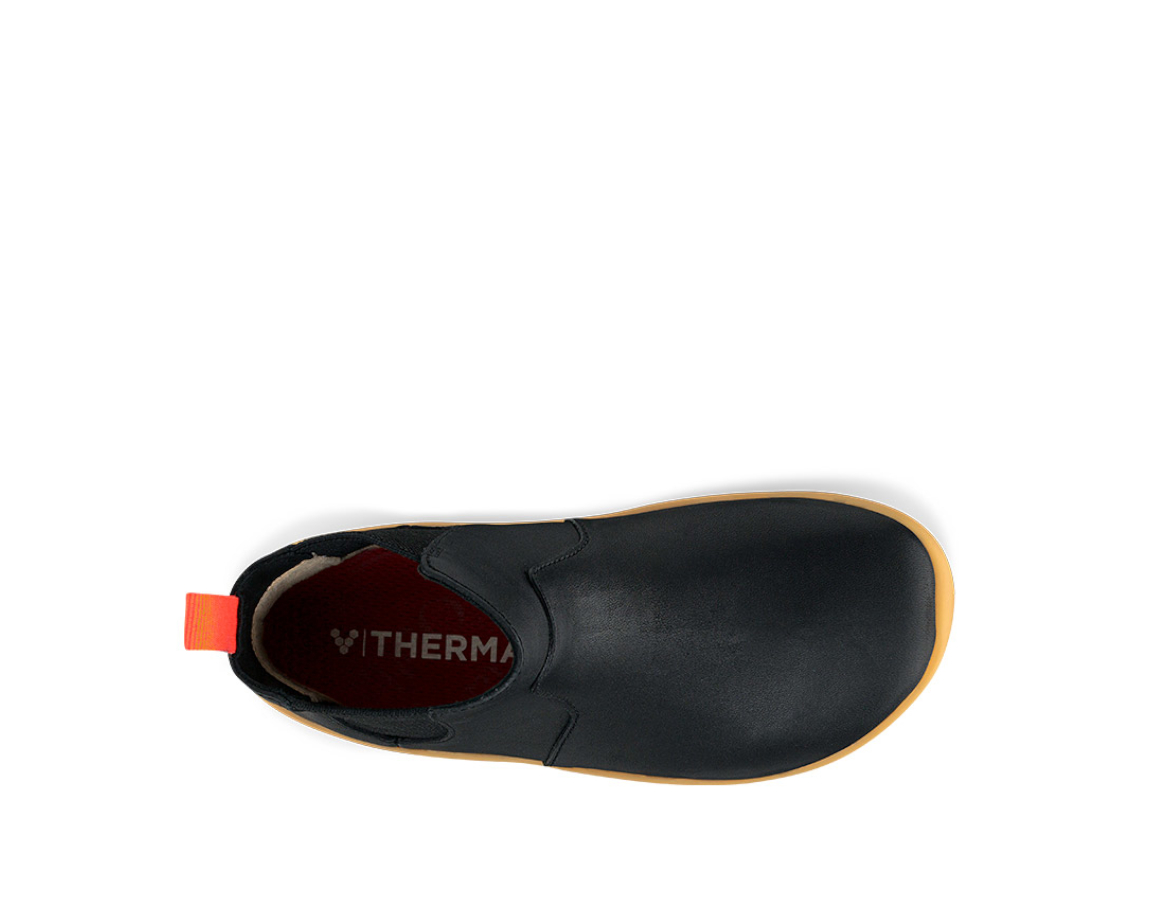 Vivobarefoot FULHAM J Black Leather ()