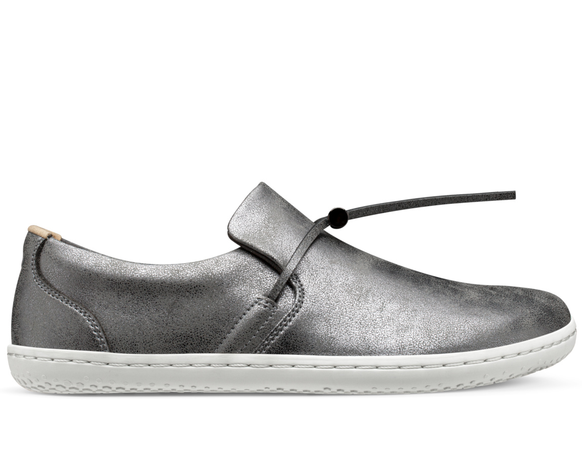 Vivobarefoot  RA SLIP ON ECO W GRAPHITE