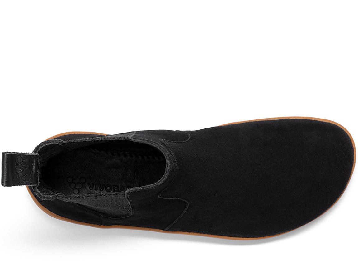 Vivobarefoot FULHAM W OBSIDIAN BLACK ()