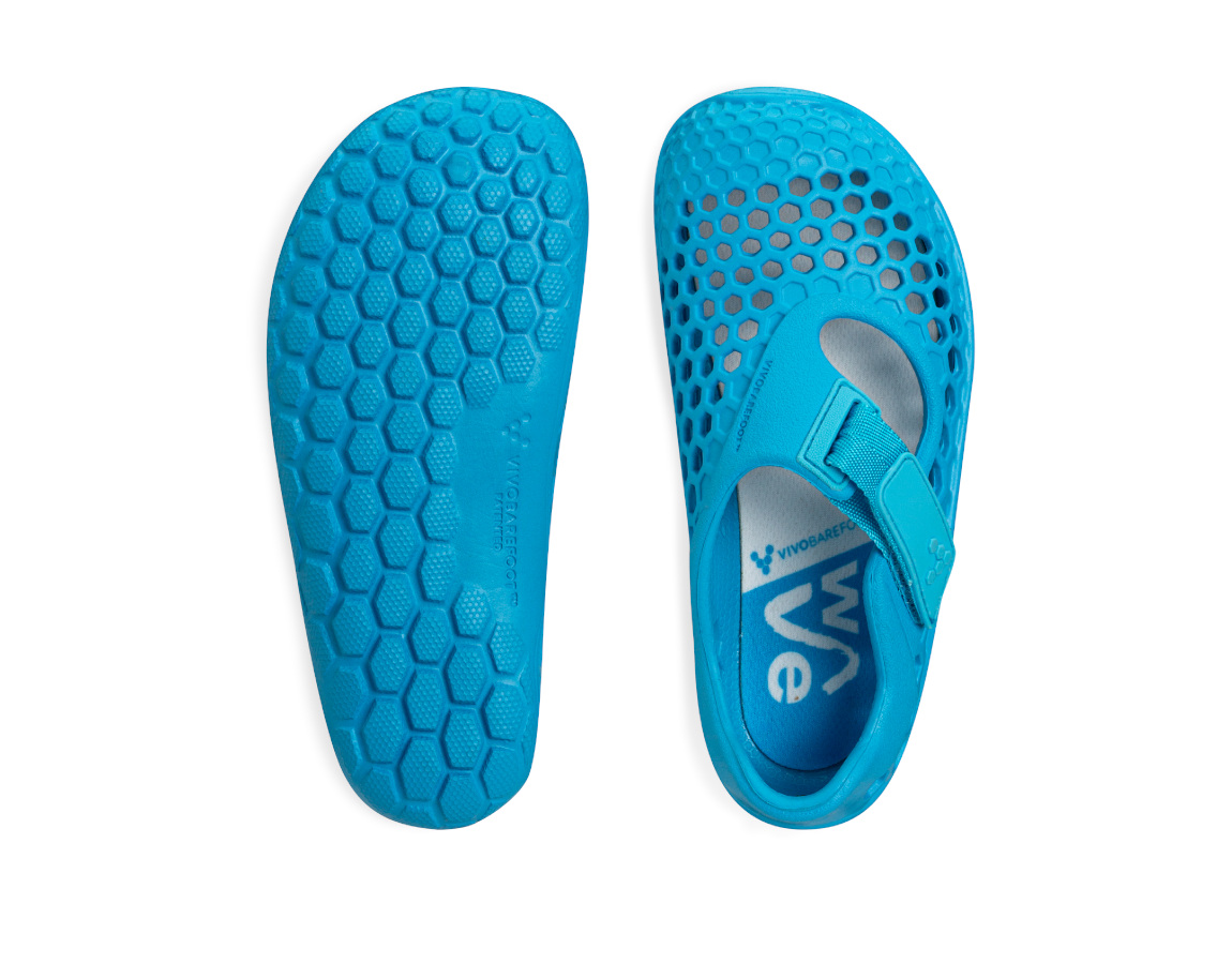 Vivobarefoot ULTRA KIDS WAVE BLUE ()