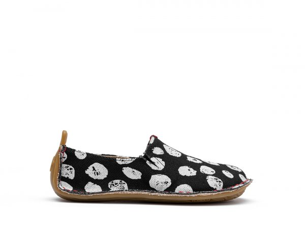Vivobarefoot ABABA KIDS BLACK DOT