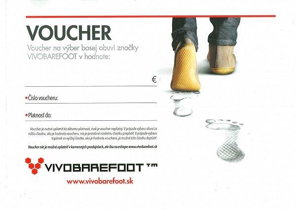 Voucher Vouchery v hodnote od 50 eur Radi by ste obdarovali svojich... €  50 c75d5172198