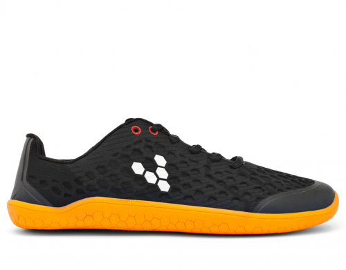 Vivobarefoot STEALTH 2 L BR Black/Orange W