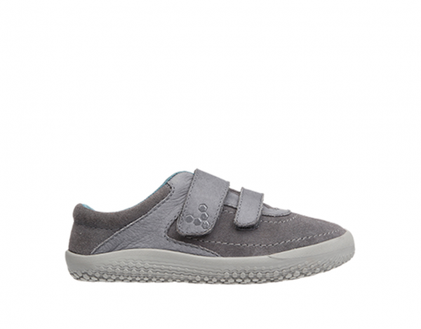 Vivobarefoot  RENO K Leather Grey
