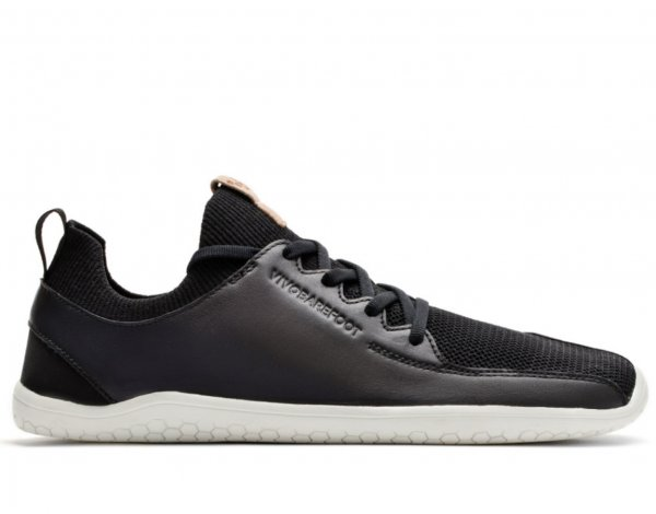 Vivobarefoot PRIMUS KNIT L Black Leather
