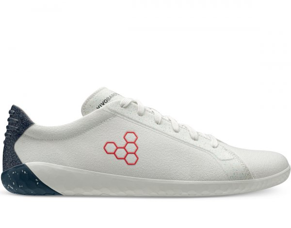 Vivobarefoot GEO COURT ECO WOMENS WHITE/NAVY/RED