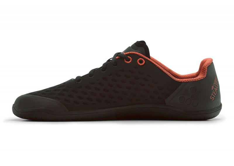Vivobarefoot STEALTH 2 L BR Black/Red (4)