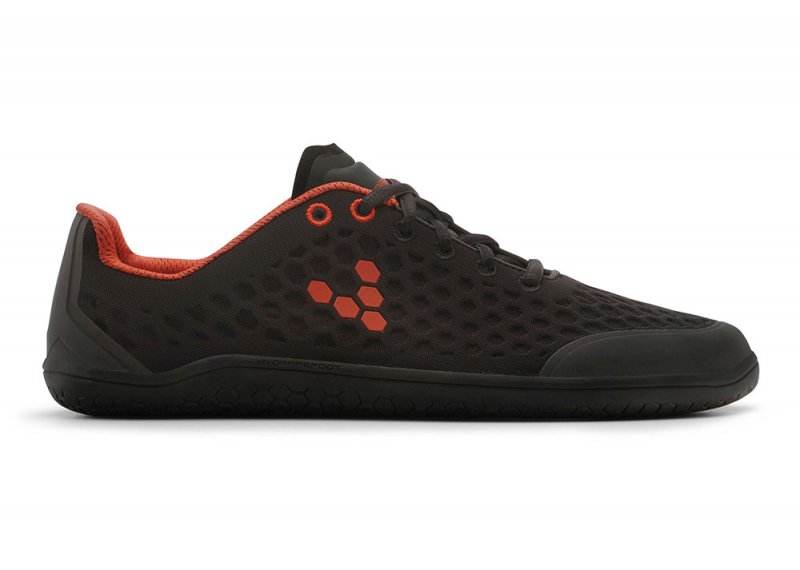 Vivobarefoot STEALTH 2 L BR Black/Red (1)