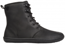 Vivobarefoot  GOBI HI TOP L Leather Black/Hide