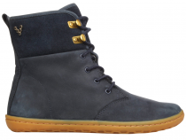Vivobarefoot  GOBI HI TOP L Leather Navy/Hide