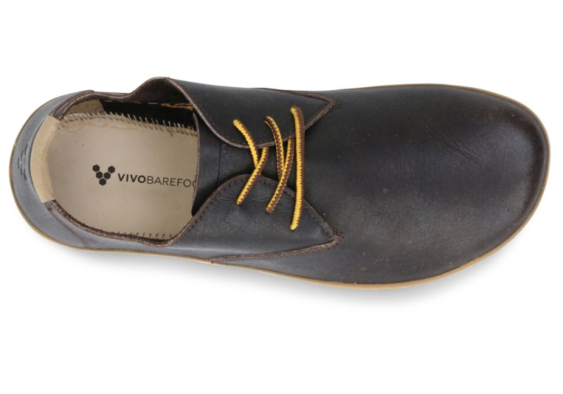 Vivobarefoot  RA II M Leather Brown/Hide (5)