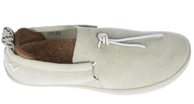 Vivobarefoot ELINA L Eco Suede Cement (5)